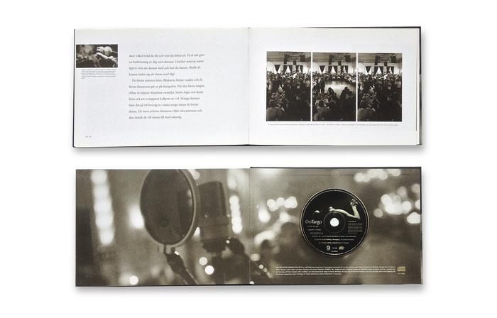 Boken ackompanjeras av en liveinspelad CD/Video från en tangokväll på Hotel Mollbergs i Helsingborg, där tre orkestrar framträdde och alla tre tillsammans spelade kvällens finalnummer – La Cumparicita.